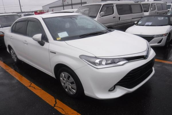Toyota Axio G Push Start 2015 Model New Shape