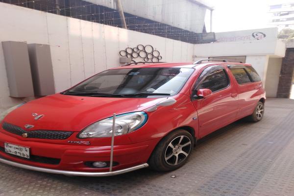 Toyota Fun Cargo Yaris Hatchback 2005 Model