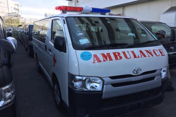 Hiace Super GL, Pearl,Ambulance