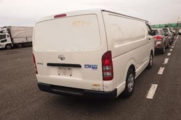 Toyota Hiace Freezer 2014 White Colour  KDH201 | BM and MN Automobiles