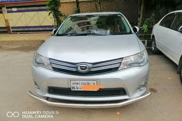 Toyota Axio Model Of 2013   RK Auto Trade