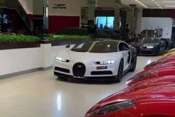 Bugatti vehicles are superior technology and very expensive cars in the world