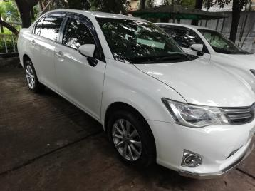 AXIO 2012 X Package White Color Automatic Toyota