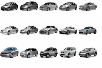 Nissan Brand High Quality Luxury Car With Variety of Different Color