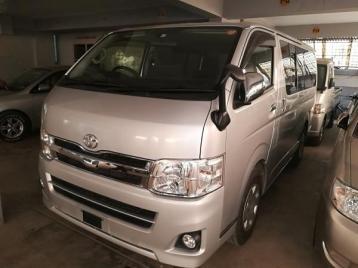 Toyota Hiace Super GL Silver Color
