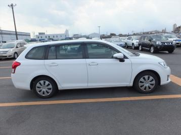 TOYOTA FIELDER WHITE 2014 | BMW AUTOMOBILES
