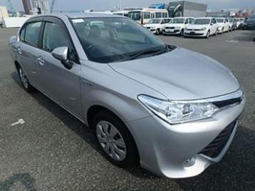 Toyota Axio 2015 X PKG New Shape Hybrid |  Automo Japan